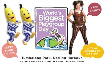 World's Biggest Playgroup with Playgroup NSW