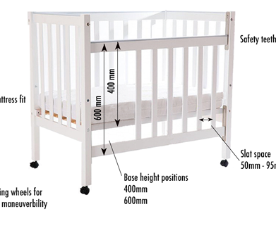 Your guide to choosing a safe cot