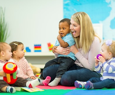 Developing children's positive behaviour in child care