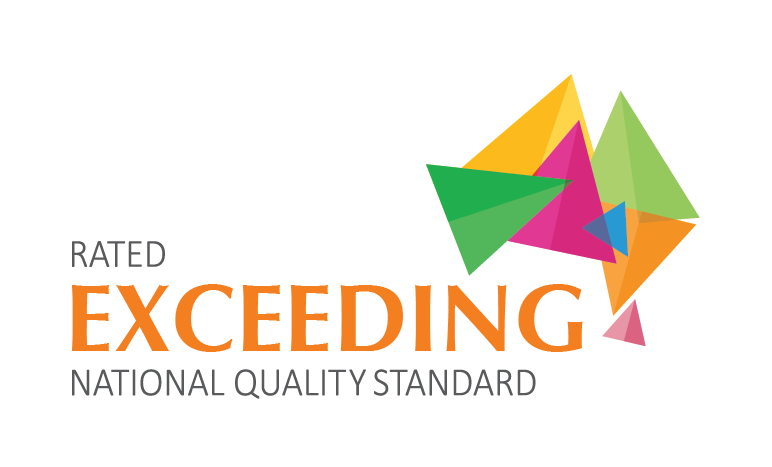 Exceeding National Quality Standard rating logo