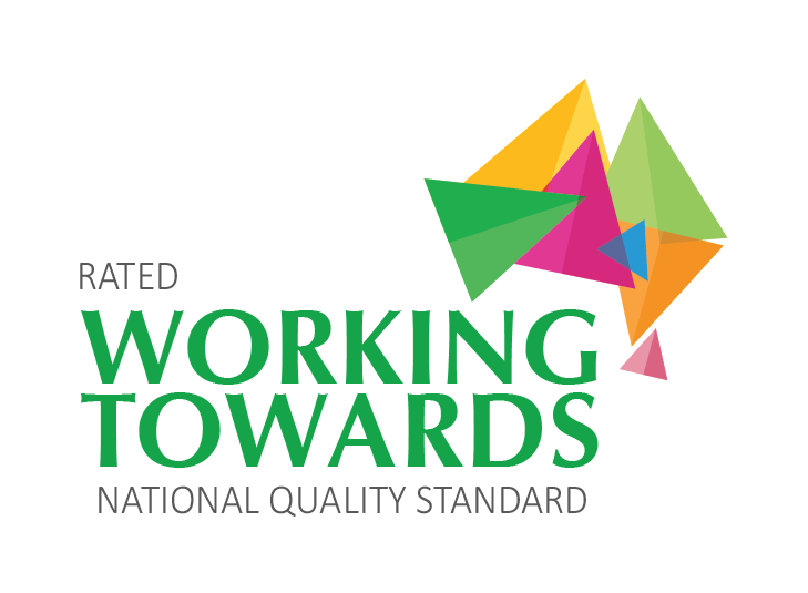 Working towards National Quality Standard rating logo